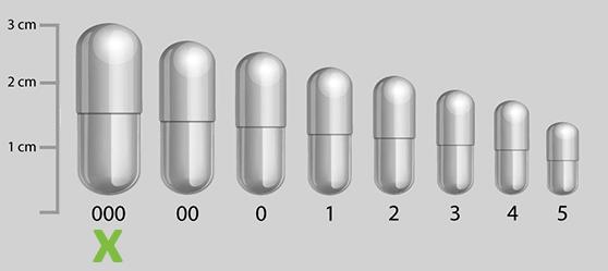 Welke maat capsule