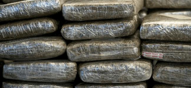 1098 kilo coke onderschept
