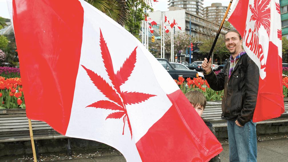 Cannabis legaal Canada