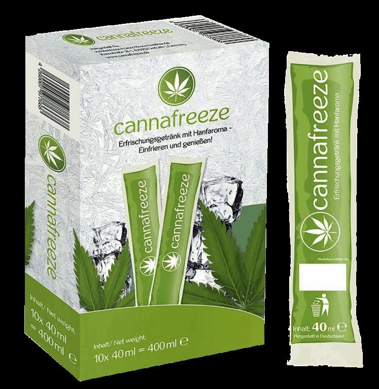 Cannafreeze, een cannabis ijsje