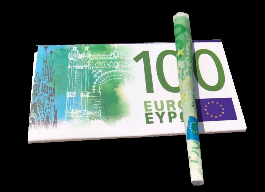 100 euro vloei