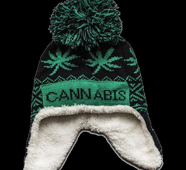 Cannabis muts lekker warm