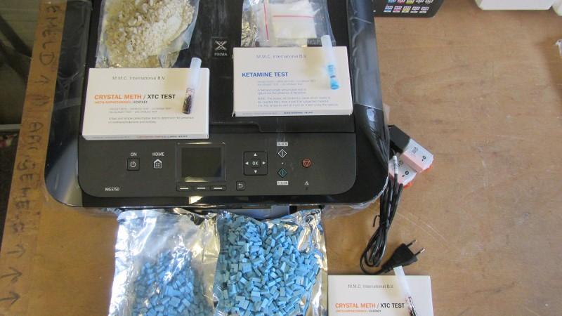 Drugs in printer