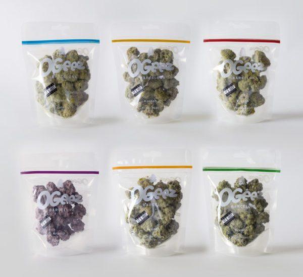 Cannabis toppen van chocolade