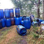 Aanhoudingen inzake dumping drugsafval