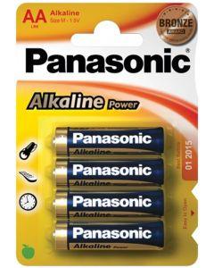 AA batterijen per vier