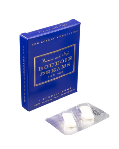 Boudoir Dreams kauwgum voor haar