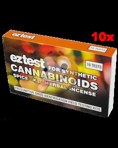 Cannabis test EZ 10x