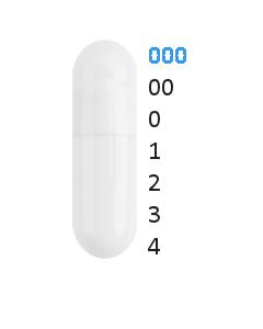 Gastro capsules maat 000 (1,37 ml)