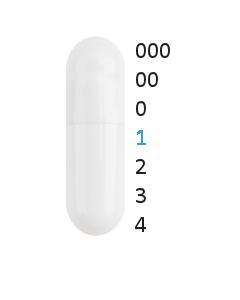 Gastro capsules maat 1 (0,50 ml)