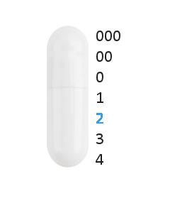 Gastro capsules maat 2 (0,37 ml)
