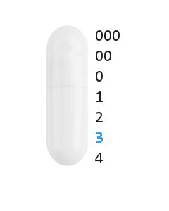 Gastro capsules maat 3 (0,30 ml)