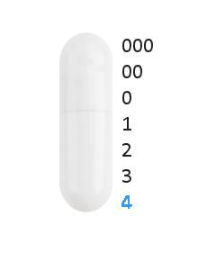 Gastro capsules maat 4 (0,21 ml)