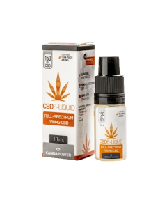 CBD E-liquid Tea & Peach (Cannapower)