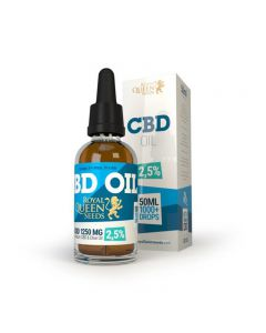 CBD olie Royal Queen Seeds 1250 mg