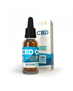 CBD olie Royal Queen Seeds 750 mg
