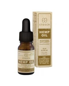CBD olie ENDOCA HEMP OIL 10ML 15% CBD
