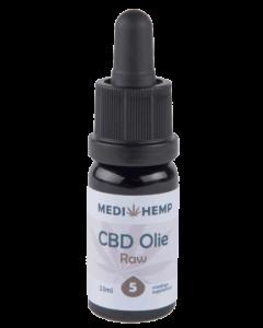 CBD olie RAW MediHemp 10ml 2,5%