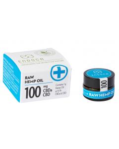 ENDOCA HEMP OIL PASTE 1 GRAM 10% RAW CBD 100 MG