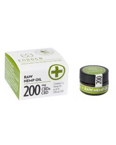 ENDOCA HEMP OIL PASTE 1 GRAM 20% RAW CBD 200 MG