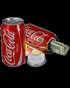 Blikje safe CocaCola