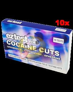 Cocaïne versnijding test (CUTS) EZ 10x