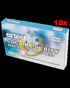 Cocaïne zuiverheid test EZ 10x