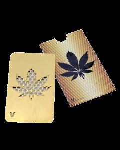 Grinder creditcard blad, goud