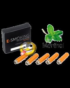 E-smoking menthol [middel]