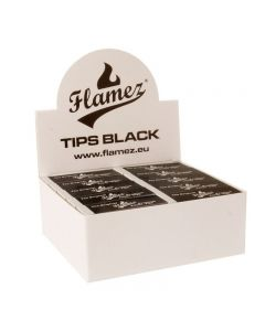 Filter tips black Flamez