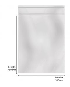 Sluitzakken 35x45 cm