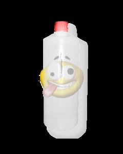 Lege fles 1 liter wit