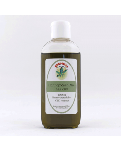 Hennepzaad-olie Plus (Medi-Wiet) 100ml