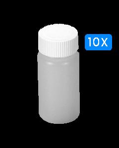 Lege buisjes 25 ml 10 stuks