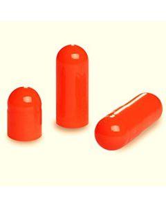 10 lege capsules gelatine oranje maat 0