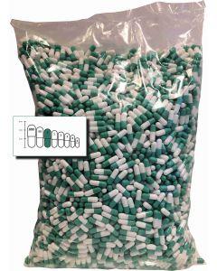 Lege capsules gelatine maat 0 bulk