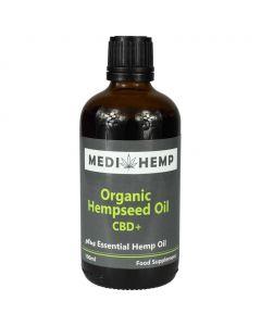 Hennepzaad olie Plus CBD Biologisch (Medihemp) 240mg 100ml