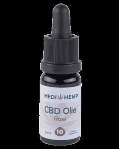 CBD olie RAW MediHemp 10ml 10%