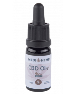 CBD olie RAW MediHemp 10ml 5%
