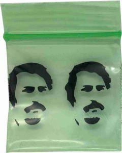 Mini gripzakjes Pablo groen [100 stuks]