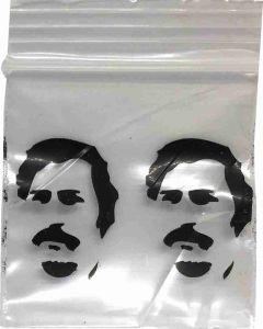 Mini mini gripzakjes Pablo transparant [100 stuks]