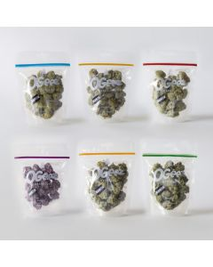 Chocolade cannabis toppen