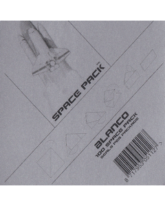 Spacepack seals Blanco klein [100x]