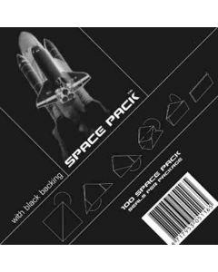 Spacepack Seals klein zwart [100x]