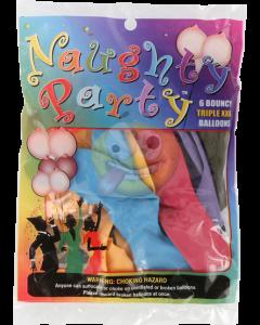 Tieten ballonnen [6 stuks]