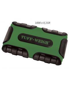 Zakweegschaaltje Tuff Weigh- 1000 (1000x0,1)