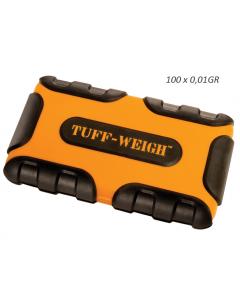 Zakweegschaaltje Tuff Weigh- 100 (100x0,01)