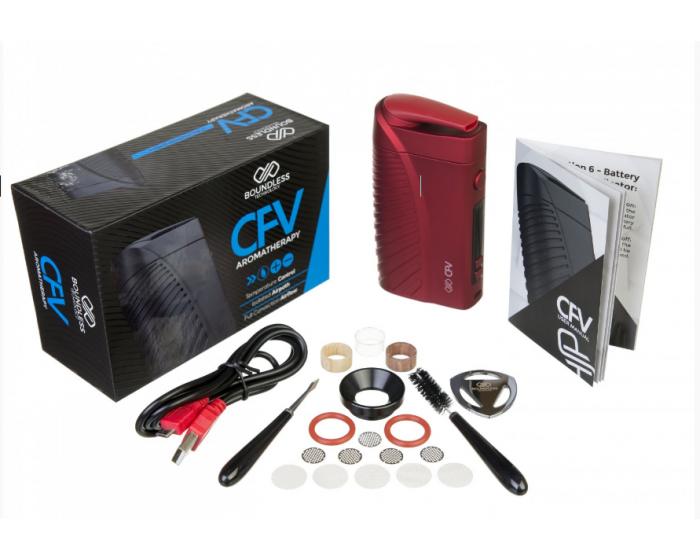 Boundless CFV vaporizer inhoud verpakking