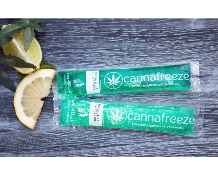 Cannafreeze cannabis ijsje verfrissend