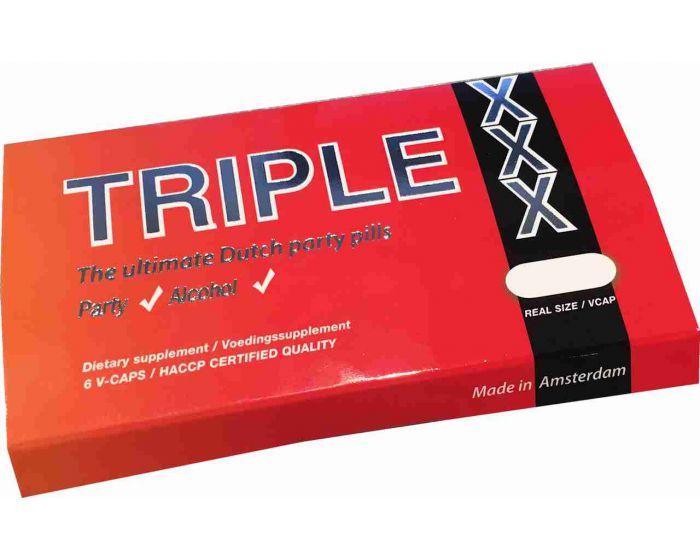 Triple X partycaps